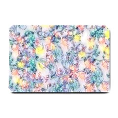 Softly Floral C Small Doormat  by MoreColorsinLife