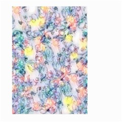 Softly Floral C Large Garden Flag (two Sides) by MoreColorsinLife