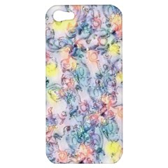 Softly Floral C Apple Iphone 5 Hardshell Case by MoreColorsinLife