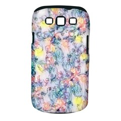 Softly Floral C Samsung Galaxy S Iii Classic Hardshell Case (pc+silicone) by MoreColorsinLife