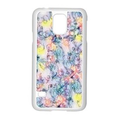 Softly Floral C Samsung Galaxy S5 Case (white) by MoreColorsinLife