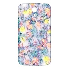 Softly Floral C Samsung Galaxy Mega I9200 Hardshell Back Case by MoreColorsinLife