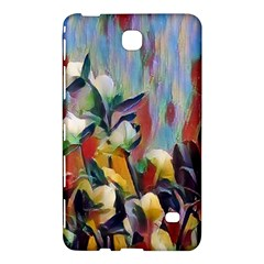 Abstractionism Spring Flowers Samsung Galaxy Tab 4 (8 ) Hardshell Case  by DeneWestUK