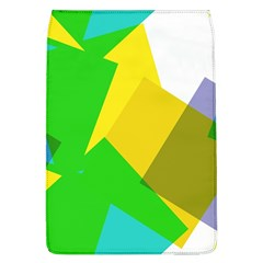 Green Yellow Shapes  Samsung Galaxy Grand Duos I9082 Hardshell Case by LalyLauraFLM