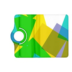 Green yellow shapes  Samsung Galaxy Note 3 Soft Edge Hardshell Case by LalyLauraFLM