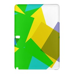 Green Yellow Shapes  Nokia Lumia 1520 Hardshell Case by LalyLauraFLM