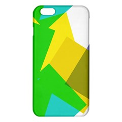 Green Yellow Shapes  Iphone 6/6s Tpu Case by LalyLauraFLM