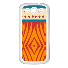 Shapes in retro colors Samsung Galaxy S7710 Xcover 2 Hardshell Case by LalyLauraFLM