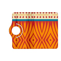 Shapes in retro colors Samsung Galaxy Note 3 Soft Edge Hardshell Case by LalyLauraFLM