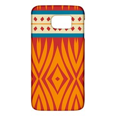 Shapes in retro colors HTC One M9 Hardshell Case by LalyLauraFLM