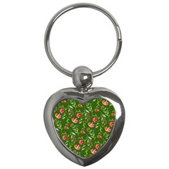 Sunny Garden I Key Chains (heart)  by tarastyle