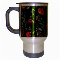 Sunny Garden I Travel Mug (silver Gray)