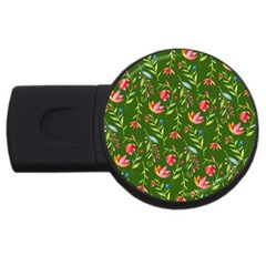 Sunny Garden I Usb Flash Drive Round (4 Gb) by tarastyle