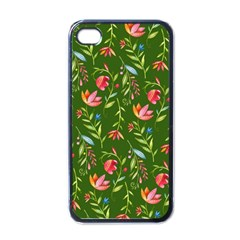 Sunny Garden I Apple Iphone 4 Case (black) by tarastyle