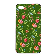 Sunny Garden I Apple Iphone 4/4s Seamless Case (black) by tarastyle