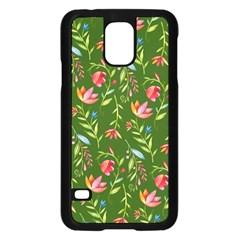 Sunny Garden I Samsung Galaxy S5 Case (black)