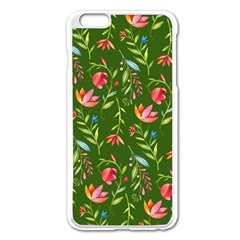 Sunny Garden I Apple Iphone 6 Plus/6s Plus Enamel White Case