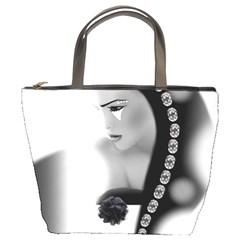 Silence Of Beauty Bucket Bags by mugebasakart