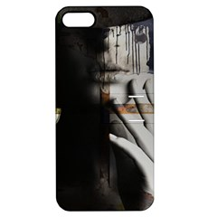 Burnt Apple Iphone 5 Hardshell Case With Stand by mugebasakart