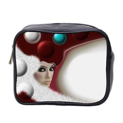Carnaval Mini Toiletries Bag 2 Side by mugebasakart