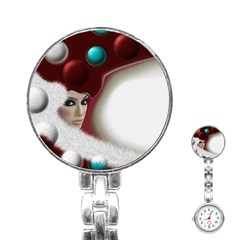 Carnaval Stainless Steel Nurses Watch by mugebasakart