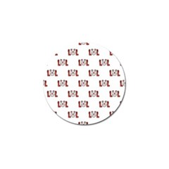 Lol Emoji Graphic Pattern Golf Ball Marker by dflcprints