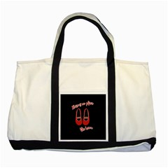 There Is No Place Like Home Two Tone Tote Bag by Valentinaart