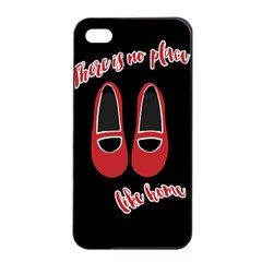 There Is No Place Like Home Apple Iphone 4/4s Seamless Case (black) by Valentinaart