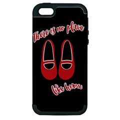 There Is No Place Like Home Apple Iphone 5 Hardshell Case (pc+silicone) by Valentinaart