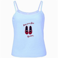 There Is No Place Like Home Baby Blue Spaghetti Tank by Valentinaart