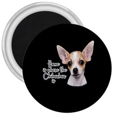 Chihuahua 3  Magnets by Valentinaart