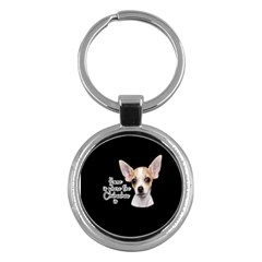 Chihuahua Key Chains (round)  by Valentinaart