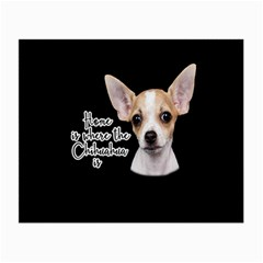 Chihuahua Small Glasses Cloth