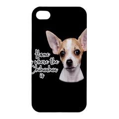 Chihuahua Apple Iphone 4/4s Hardshell Case by Valentinaart