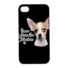 Chihuahua Apple Iphone 4/4s Hardshell Case With Stand by Valentinaart