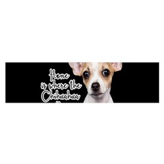 Chihuahua Satin Scarf (oblong) by Valentinaart