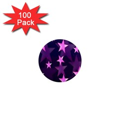 Background With A Stars 1  Mini Magnets (100 Pack)  by Nexatart