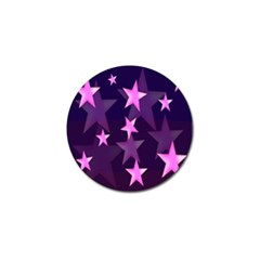 Background With A Stars Golf Ball Marker (10 Pack) by Nexatart