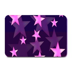Background With A Stars Plate Mats