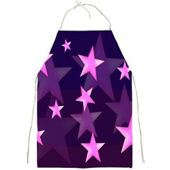 Background With A Stars Full Print Aprons