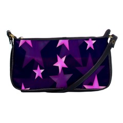 Background With A Stars Shoulder Clutch Bags