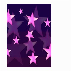 Background With A Stars Small Garden Flag (two Sides)