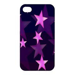 Background With A Stars Apple Iphone 4/4s Premium Hardshell Case by Nexatart