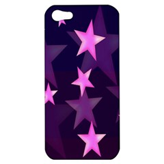 Background With A Stars Apple Iphone 5 Hardshell Case