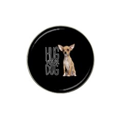 Chihuahua Hat Clip Ball Marker by Valentinaart