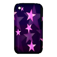 Background With A Stars Iphone 3s/3gs by Nexatart