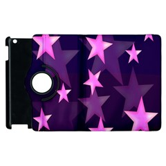 Background With A Stars Apple Ipad 2 Flip 360 Case by Nexatart