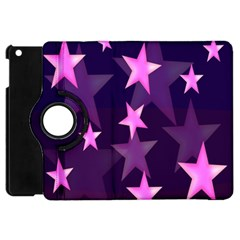 Background With A Stars Apple Ipad Mini Flip 360 Case