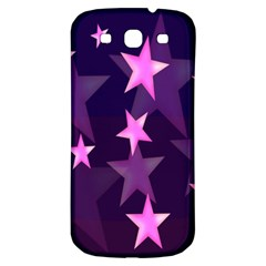Background With A Stars Samsung Galaxy S3 S Iii Classic Hardshell Back Case