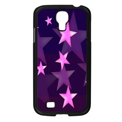 Background With A Stars Samsung Galaxy S4 I9500/ I9505 Case (black)